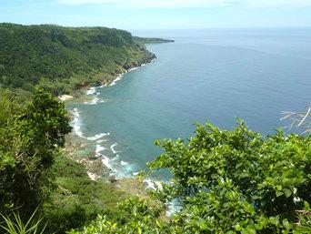 徳之島の小原海岸(こばるかいがん)