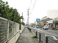 徳之島の亀津/亀徳の町並み