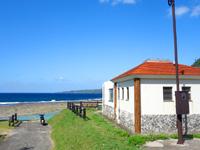 徳之島の瀬田海海浜公園 - 海浜公園だけに施設は充実