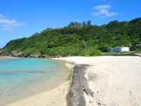 徳之島の瀬田海海浜公園 - 一部造成している部分もあります