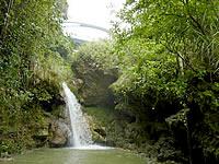 奄美諸島 徳之島の阿権の滝の写真
