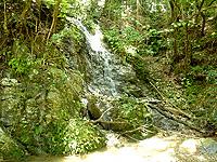 タキンシャ途中の滝/大瀬川途中の滝