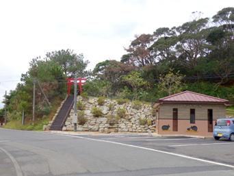 徳之島の当部集落/クロウサギの里/ファームポンドドーム「内陸の小さな集落です」