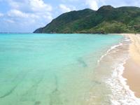 渡名喜島のアンゼーラ浜/アンジェーラ浜 - 海の色がハンパなく綺麗