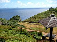 渡名喜島の島尻毛 - 休憩所もありますが、道が少々複雑