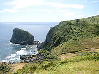 渡名喜島の島尻毛 - 各種展望台からの景色とは違ったものを見れます