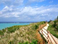 渡名喜島のサカシ散策道/散策路 - ワタンジ崎を目指しながら歩く遊歩道