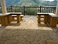 渡名喜島の東り浜展望台/上ノ手展望台 - 広くなったがあのテーブルがない!