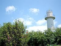 津堅島の津堅島灯台