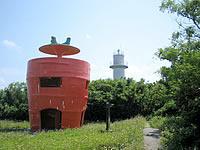 津堅島のキャロット愛ランド展望台