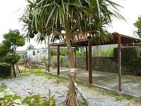 津堅島の愛の一族ガーデンの写真