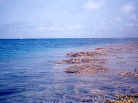 八重干瀬の八重干瀬海上2