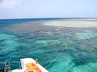 八重干瀬の八重干瀬海上3 - 深いポイントと浅いポイントが混在