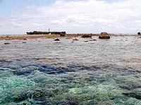 八重干瀬のフデ岩