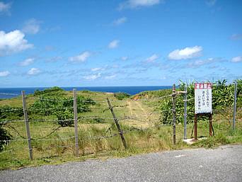 ウブドゥマイ浜への入口