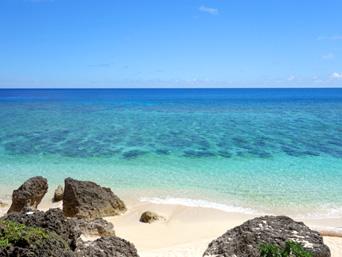 与那国島の六畳ビーチ/6畳浜「とにかくキレイな海が広がっています」
