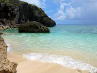 与那国島の六畳ビーチ/6畳浜 - 海の透明度は抜群です