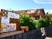 与那国島の工房月神/つくがみ/パーラーRERA - 手前のカフェは道路側から入りやすい