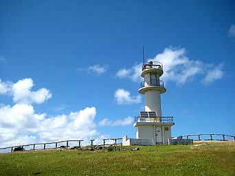 与那国島の東崎灯台
