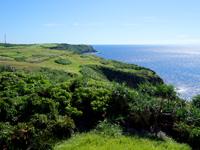与那国島の立神岩展望台 - 東崎側の方が景色は断然いい!