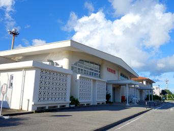 与那国島の与那国空港「結構古いけど施設はそんなに老朽化していません」