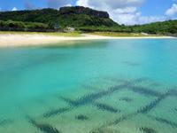 与那国島のナンタ浜の写真