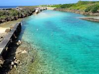 与那国島の波多橋 - 端から見る海の色は祖内で最高