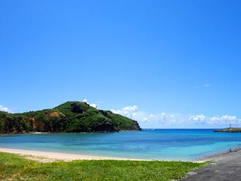 与那国島のナーマ浜