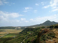 与那国島のティンダハナタ頂上の写真
