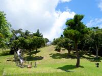 与那国島の与那国岳/満田原森林公園 - 公園には滑り台などの遊具もあるけど・・・