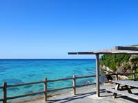 与論島のアイギビーチ/B&Gの浜 - 絶景を望める広場有り