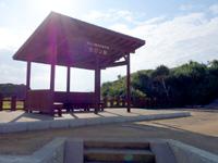 与論島のヨロン駅 - 新しく駅舎も出来ました!