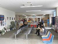 与論島の与論空港 - 売店と軽食コーナーがあったかな?