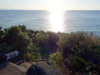 与論島のゆうひの丘/愛の鐘 - 西向きなのでまさに夕日の丘!