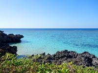 与論島の星空ポイント/指定席 - 夜より昼に海を楽しんだ方がいいかも?