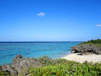 与論島の星空ポイント/指定席 - 宇勝のビーチも周辺にあります