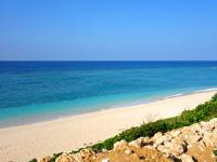 与論島のパラダイスビーチ