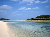 与論島のピヤンチク離/クリスタルビーチの小島 - 砂浜もとってもキレイ