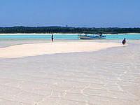 与論島の百合ヶ浜の写真