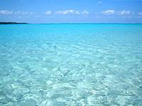 百合ヶ浜の海の色