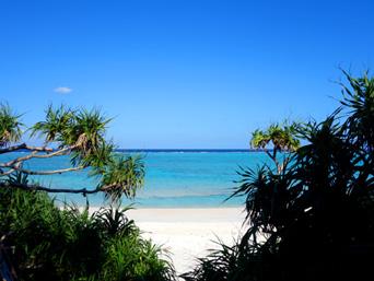 与論島の黒花海岸「寺崎海岸の影に隠れた絶景の穴場ビーチ」