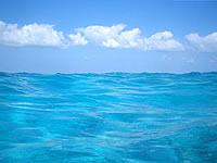寺崎海岸の海の色