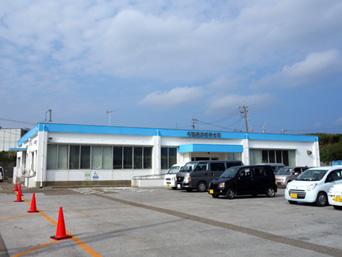与論島の供利港/与論港フェリーターミナル「一度改築したけど同じ建物になっていた(笑)」