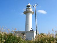 与論島の赤崎灯台 - 与論島では大きな灯台です