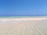 与論島の百合ヶ浜の砂浜 - 天国のような場所です