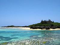 沖縄本島離島 与論島の皆田離(みなたばなり)の写真