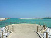 与論島の与論港コースタルリゾート - こんな見晴らす場所もあります