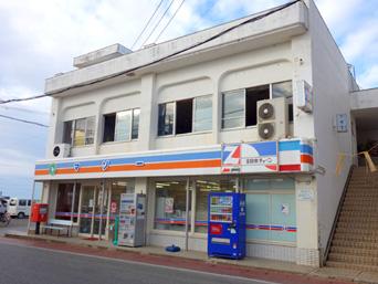 与論島のマソー(旧アイショップ与論店/コンビニ・アイ)「以前より少し綺麗な建物になった?」