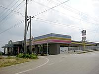 与論島のスーパー トップ/シルク100円ショップ/酒のキンコー