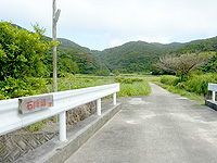 請島「石川道入口」